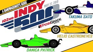 2018 Indianapolis 500 --- A Bandwagoner's Guide