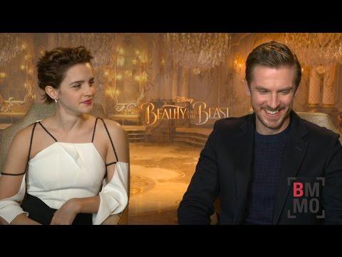 Emma Watson & Dan Stevens Interview - Beauty and the Beast