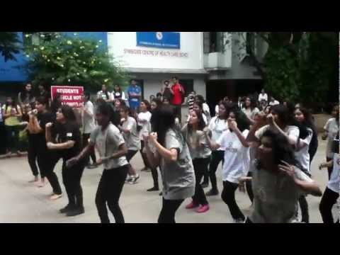 Symbiosis Law School, Pune -Flash Mob