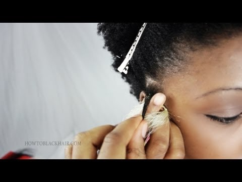 How To Braid Micro Braids Step By Step On Your Own Hair Tutorial Part 2