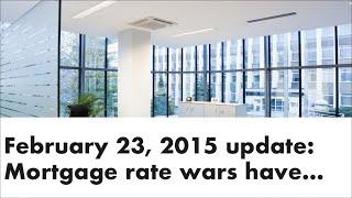 Mortgage Update Feb 23 2015 - Andrew Thake   Ottawa Mortgage Man