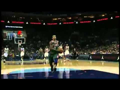 Jennings to Ellis   Milwaukee Bucks Vs Charlotte Bobcats   10   25   2012   NBA Preseason