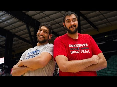 Indian Basketball Pioneers Satnam Singh, Sim Bhullar Match Up!