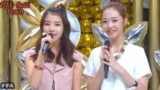 IU (아이유) & Sulli - Peach