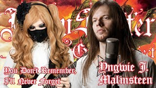 【Yngwie Malmsteen】 - 「You Don't Remember, I'll Never Forget」COVER † BabySaster & Mike Livas