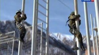 Спецназ ГРУ Тренируется В Горах Северной Осетии. 2014