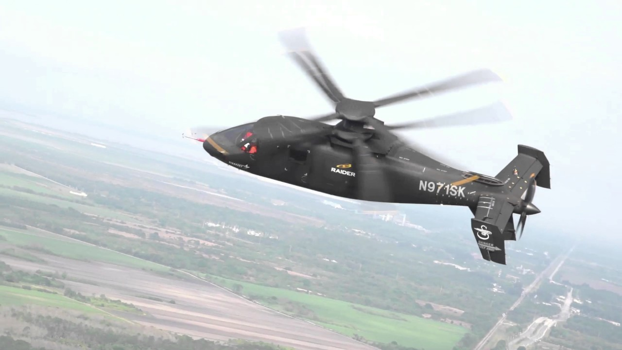 Sikorsky S-97 Raider – A High-Speed Scout and Attack Compound Helicopter for the Future