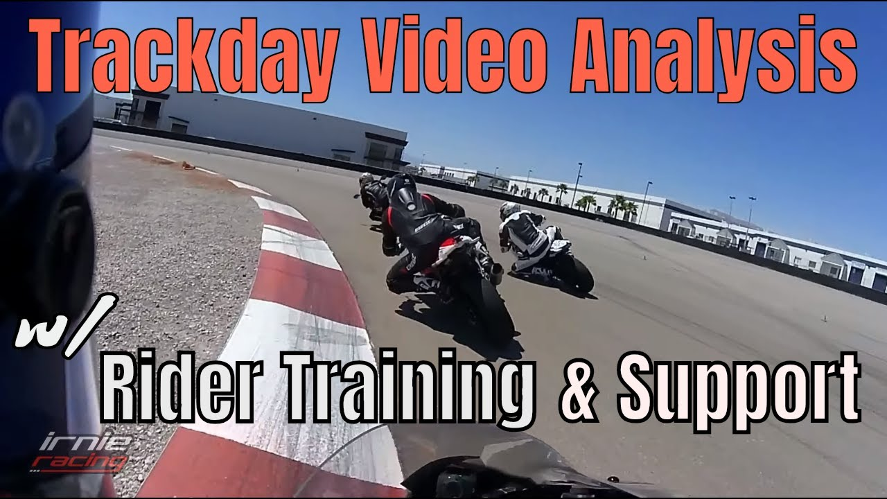 Trackday Video Analysis w/ Rider Training, and Support   Irnieracing  Student Fermin