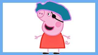 Свинка пеппа смотреть онлайн новые серии - Волшебные шоколадные игрушки (новые серии 2016)
