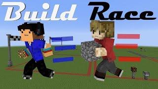 BUILD RACE! Minecraft Minigame /w Taurtis
