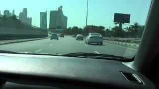 jazda po Dubaju