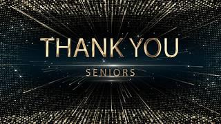 2018 Black and Gold Awards: Senior Video thumbnail