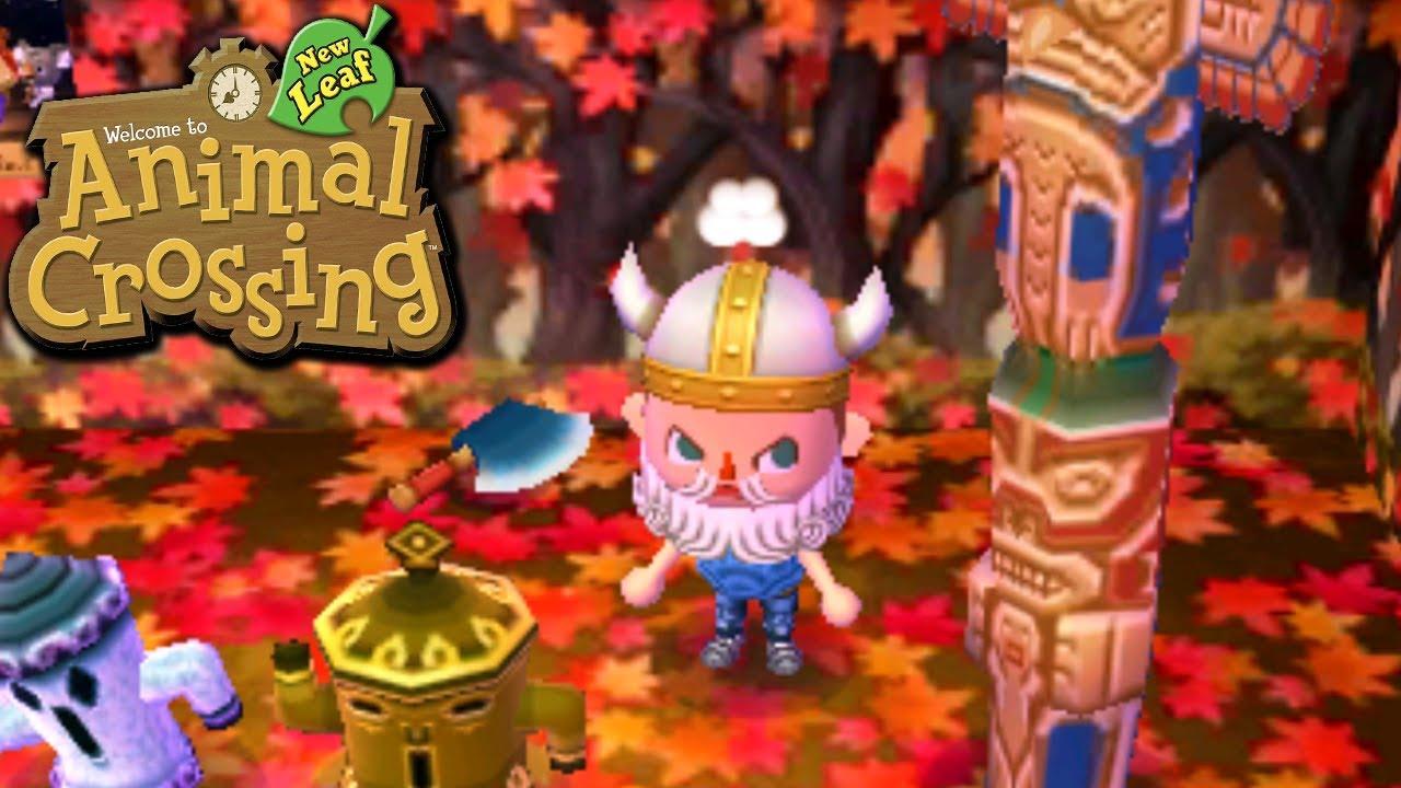 Animal Crossing New Leaf Rangthar The Viking Nintendo