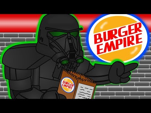 When Death Troopers Try Going Through a Drive-Thru