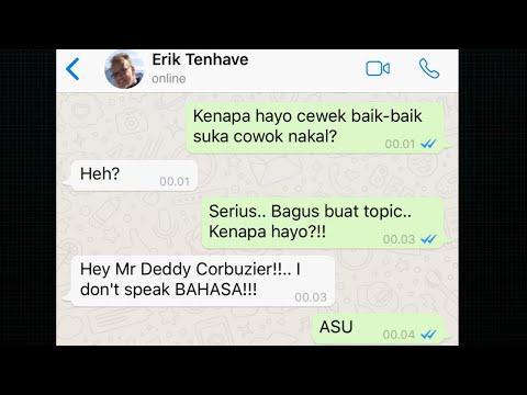 KENAPA CEWEK BAIK BAIK SUKA COWOK NAKAL? (Why Good Girl Love Bad Boy) With Erik Ten Have