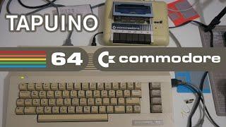 From Start To Finish: Tapuino Commodore 64 Tape Emulator