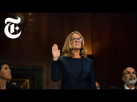 Watch: Kavanaugh and Blasey Hearing | NYT News