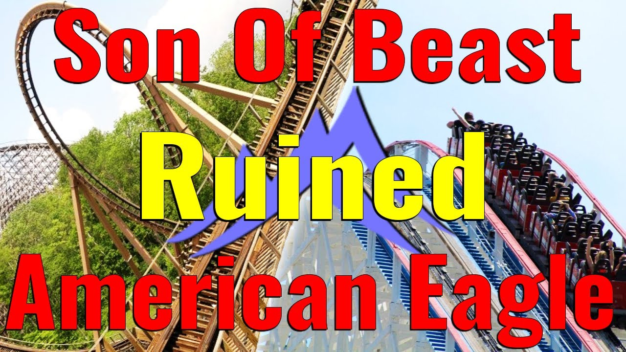 Kings Island Son Of Beast Ruined RMC American Eagle At Six Flags Great America | Orion