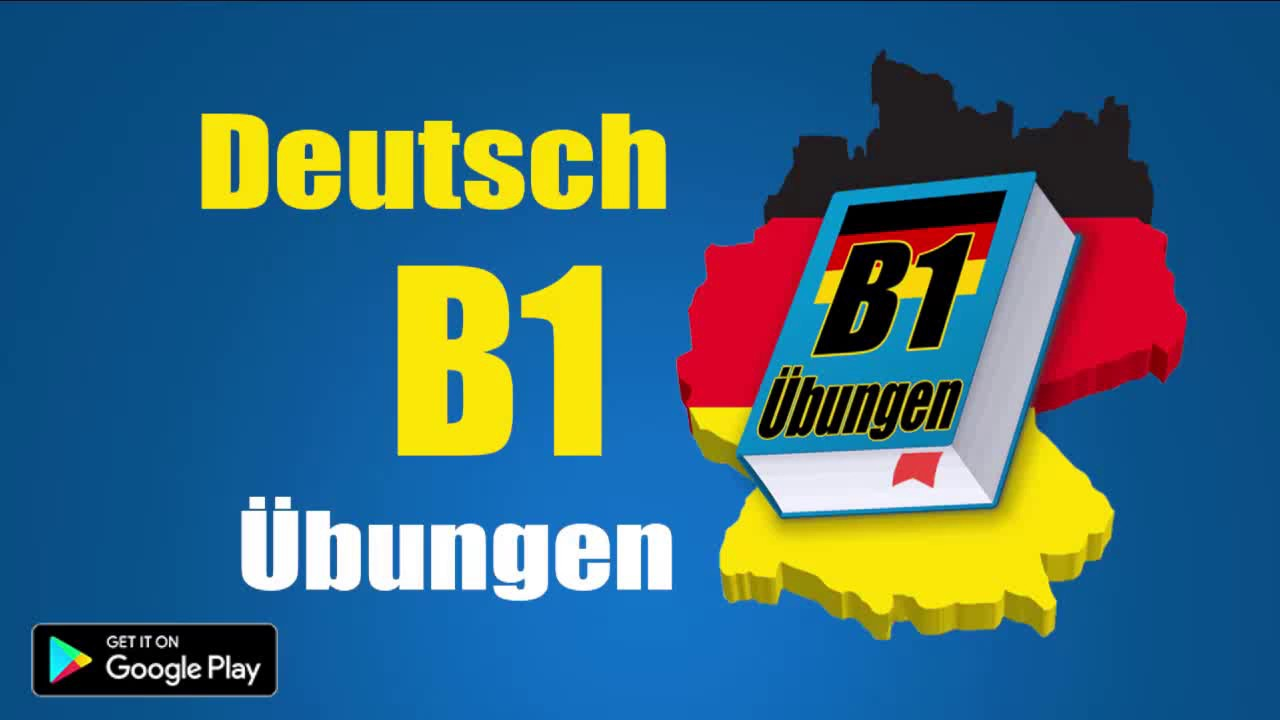 deutsch lernen b1 grammatik bungen learn german b1 grammar free youtube. Black Bedroom Furniture Sets. Home Design Ideas