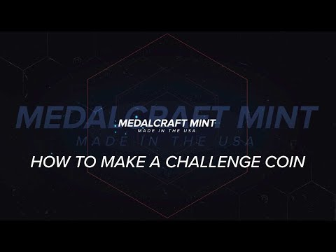 Medalcraft Mint How A Challenge Coin Is Made