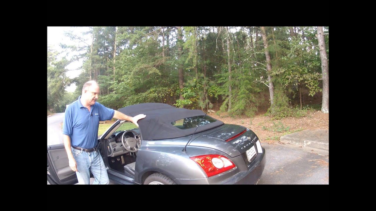 Convertible Top Switch fell into console - CrossfireForum