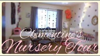 Apartment/cloth Diaper Nursery Tour! [diy - Shabby Chic Bedroom]