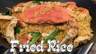 Fried Rice - How to make Crab Fried Rice - Fried Rice Recipe - English Version
