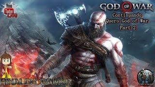 🔴 LIVE God Of War Continuando Nivel Quero God of War Part 2