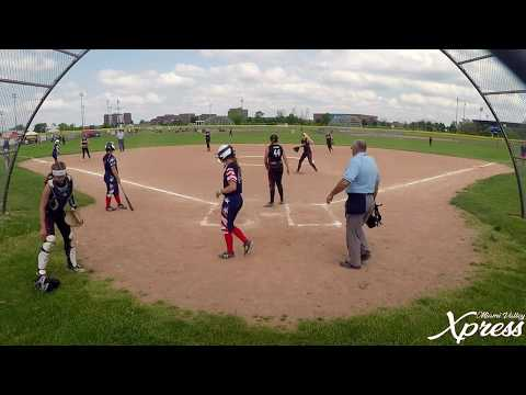 Miami Valley Xpress 05 Vs Lake Erie Diamonds 05 @ Aunt Rosie's International Tournament 5/27/18
