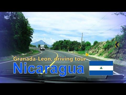 Nicaragua 2016, Vid 01, Granada Leon driving tour