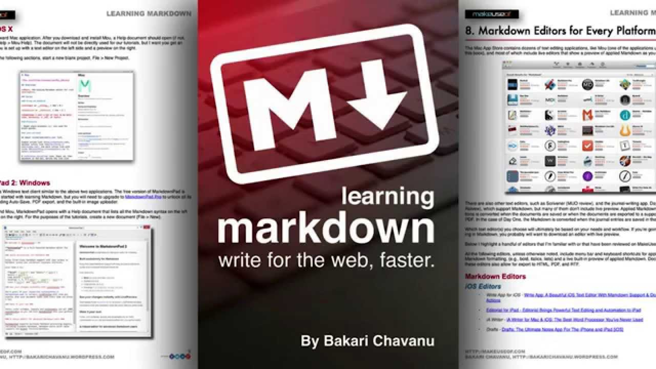 Markdown: inserting code samples