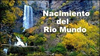 NACIMIENTO del RIO MUNDO(Los Chorros).