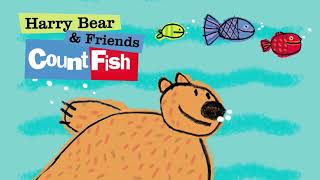 Lucy Capri: HARRY BEAR AND FRIENDS - COUNT FISH | Animated Storybook Preview (C) VOOKS