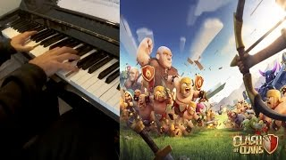 Clash of Clans Soundtrack for Piano