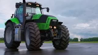 ZF showcases innovation tractor