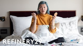 What's In My Travel Makeup Bag | Beauty With Mi | Refinery29