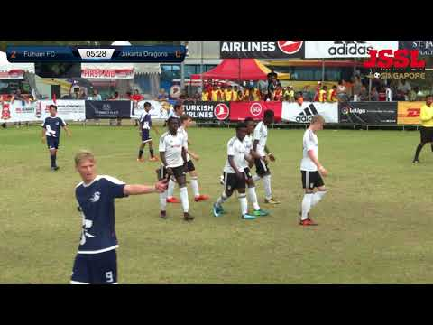 JSSL 2018 -  Fulham FC vs Jakarta Dragons Quarter Finals
