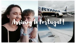 HOLIDAY VLOG 1: ARRIVING IN PORTUGAL! ✈️ | Sian Ceri