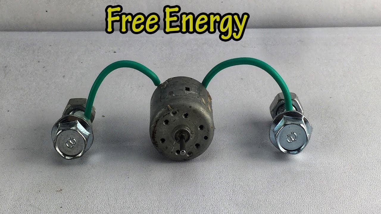 New Free Energy Generator Self Running Using DC Motor 100% For Working 2019