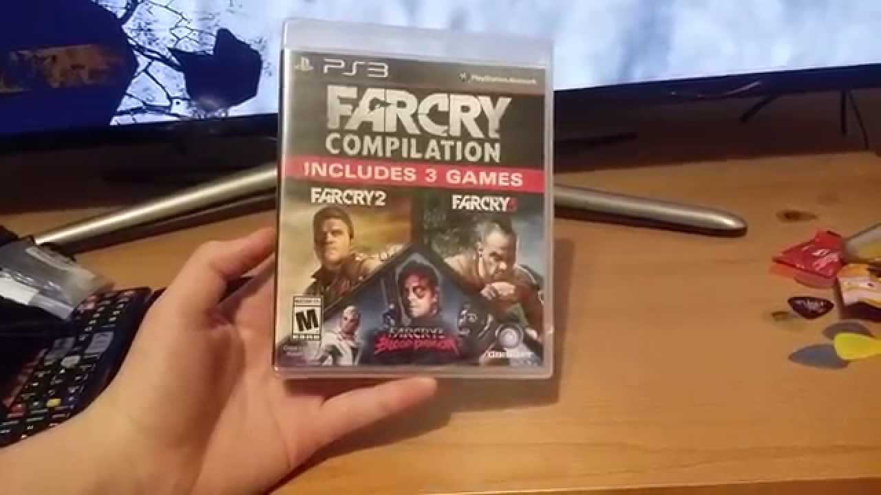 Farcry Compilation Unboxing Youtube