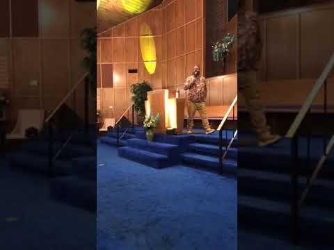 Prophet Shawn Morris -  Preaching in Shreveport, La