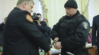 Взятие под стражу Бочковского / Взяття під варту Бочковського