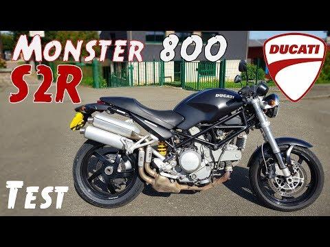 """Le meilleur Monster pour la ville? """" Ducati Monster 800 S2R dark"""""""