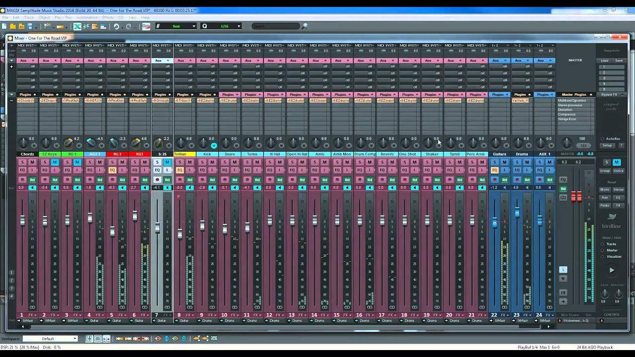 Samplitude Music Studio : magix samplitude music studio 2016 one for the road youtube ~ Russianpoet.info Haus und Dekorationen
