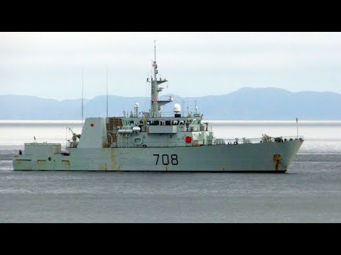 Canadian navy sequestering