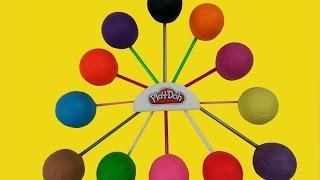 Lollipop Play-Doh Surprise Eggs Spider-man Spongebob Disney Princess Ben 10 Thumbnail