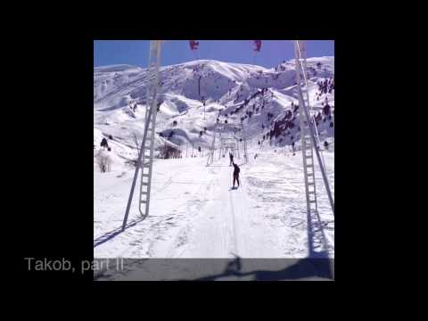 Takob, Tajikistan - winter ski resort. 2013.