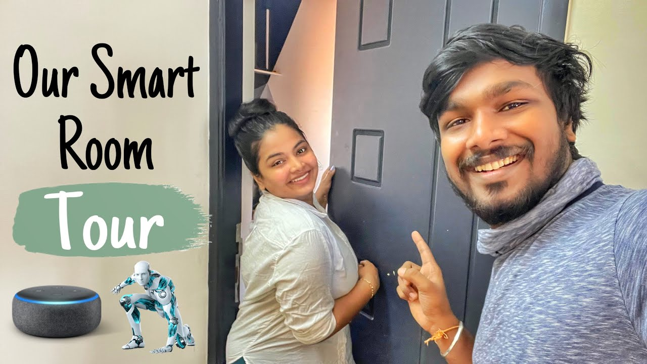 OUR NEW SMART ROOM TOUR ❤️