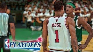 D-Rose and Rondo Get Into It! NBA 2K19 Derrick Rose My Career Ep. 39