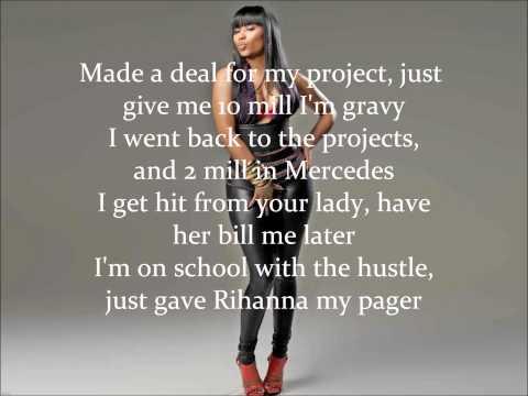 Nicki Minaj (feat. Rick Ross) - I Am Your Leader (with Lyrics)